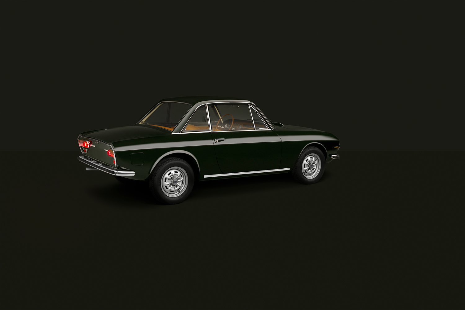 Approach_Retouch_London_Lancia_Fulvia_Tipo_818_Side