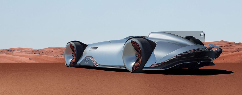 Mercedes Benz - Vision EQ
