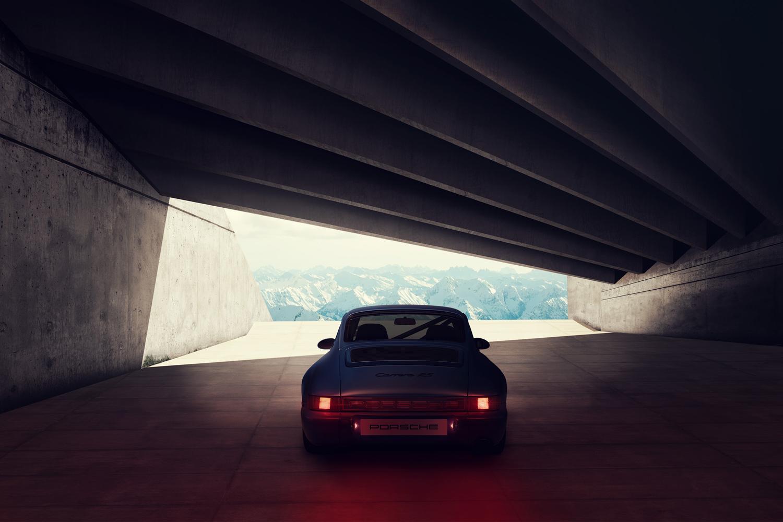 Approach_Retouch_London_Porsche_Carrera_RS_Blue_Back_01