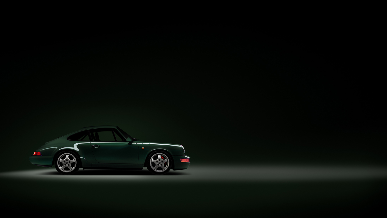 Approach_Retouch_London_Porsche_Carrera_RS_Green_Side