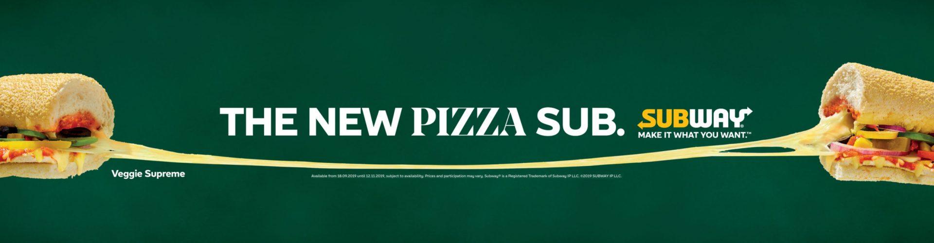 Subway Pizza Sub