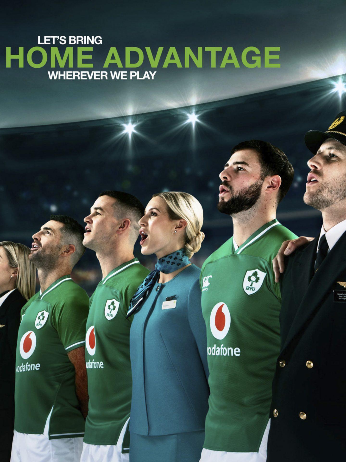 Aer Lingus X Ireland rugby
